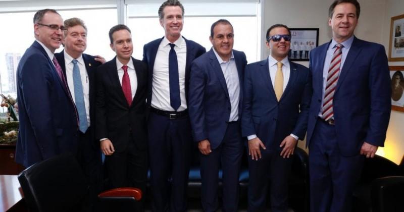 Participa Cuauhtémoc Blanco en reunión con gobernadores y empresarios estadounidenses