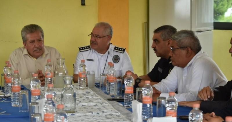 Cierran filas los municipios de Atlatlahucan y Totolapan a favor de seguridad en Morelos