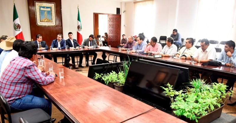 Reitera Ejecutivo acompañar a municipios indígenas en procesos de entrega recepción e inicio de funciones