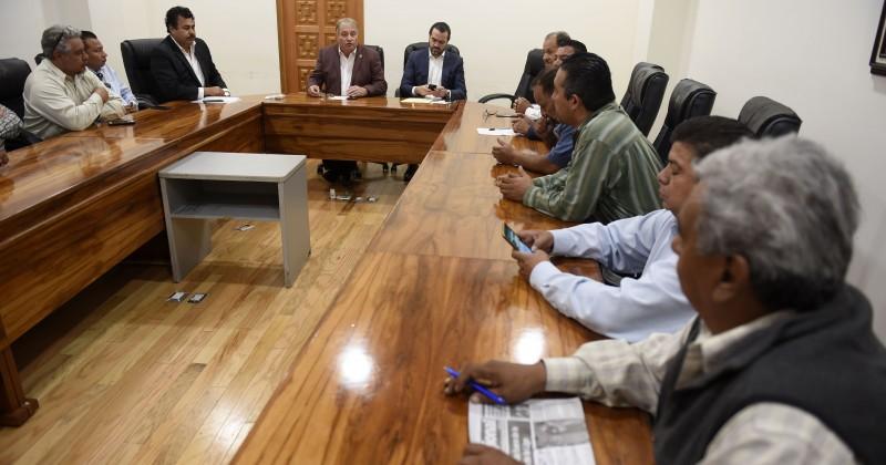 Dialogan Gobierno del Estado y transportistas por el desarrollo de Morelos