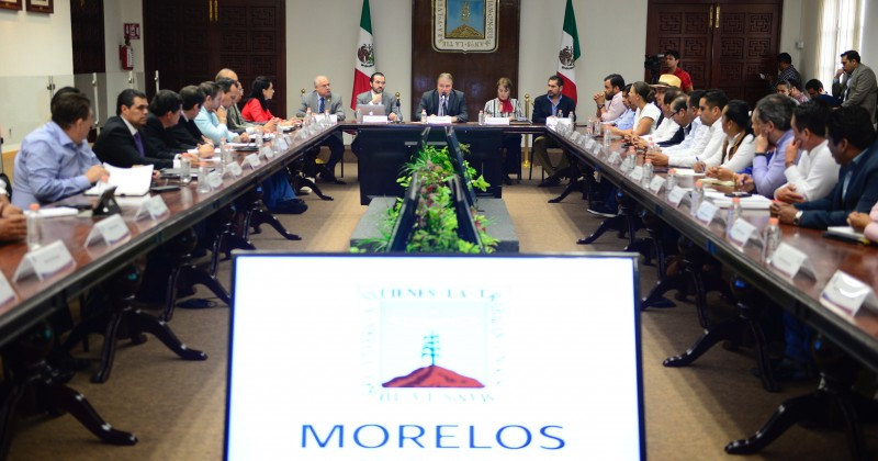Estado y municipios trabajarán juntos por el desarrollo de Morelos