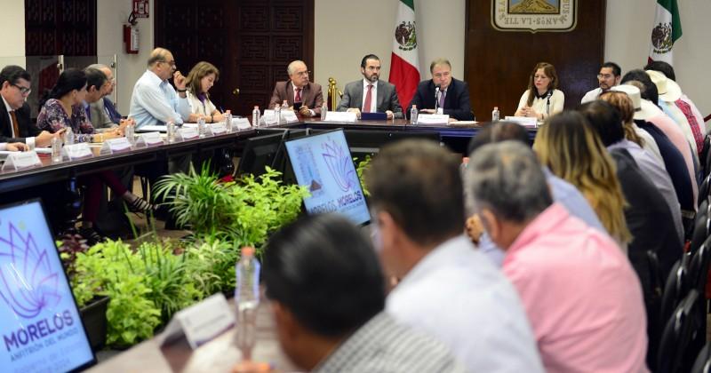 Coordinan esfuerzos integrantes del gabinete y alcaldes