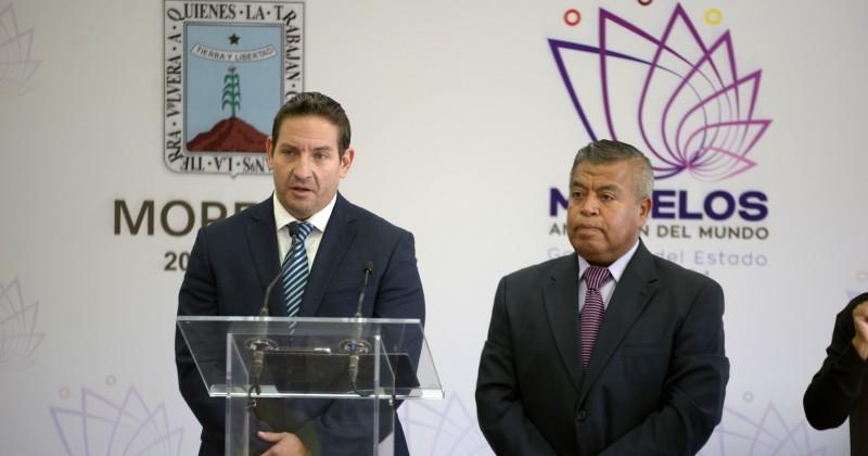 Presentan a Francisco Reyes y Alexander Pisa, Vocero Oficial y Coordinador de Comunicación Social del Gobierno Estatal
