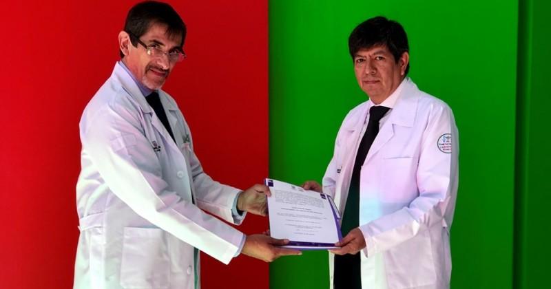 Presentan a Fermín Morales Velazco como Director General del HNAM