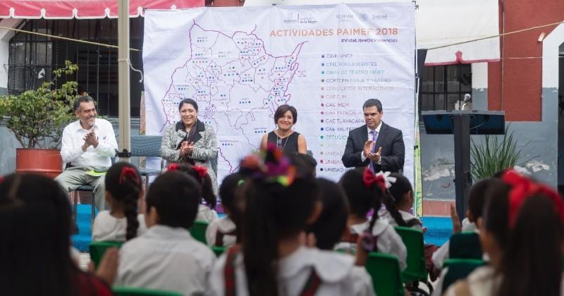 Impulsa Gobierno de Morelos cultura de igualdad desde la infancia