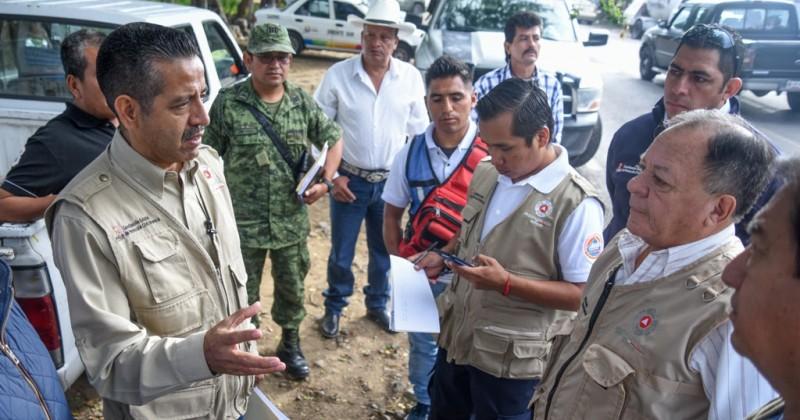 Realiza CEPCM recorrido por rutas de evacuación del Volcán Popocatépetl