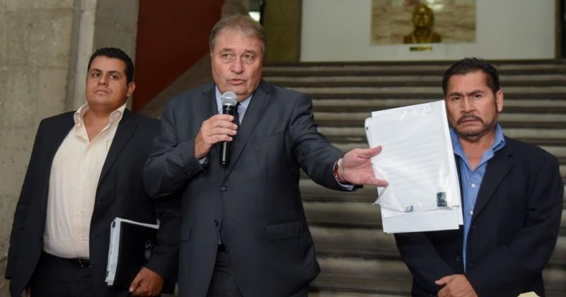 Presenta Gobierno de Morelos denuncia por hallazgo de micrófono