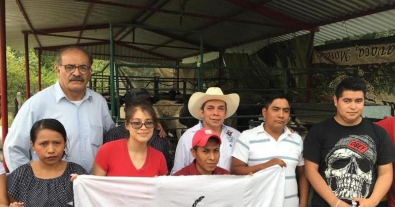 Escucha Sedagro necesidades de jóvenes productores