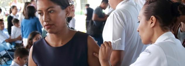 Reiteran llamado a vacunarse contra la influenza