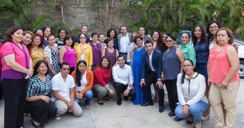 La violencia contra las mujeres en Morelos es inaceptable: Pablo Ojeda