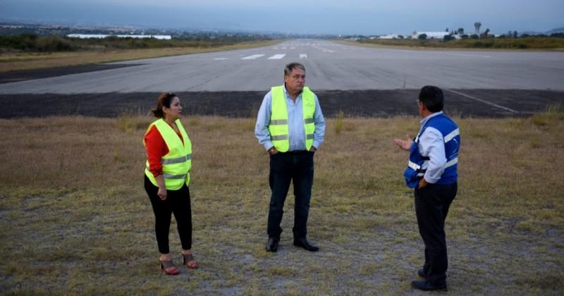 Aeropuerto Mariano Matamoros proyecto prioritario de la actual administración