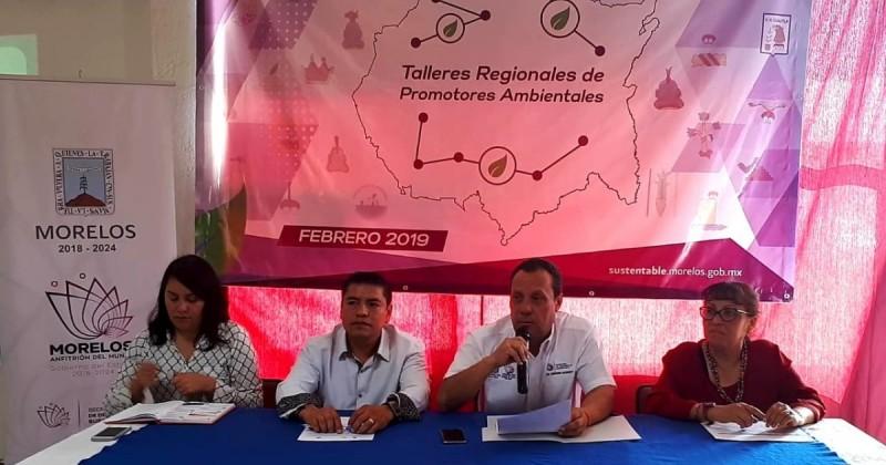 Inician Talleres Regionales para formación de promotores ambientales