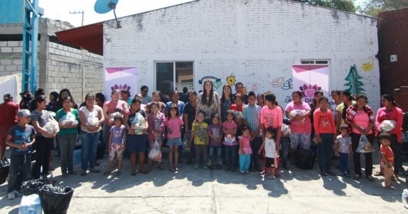 Apoya DIF Morelos a familias de jornaleros agrícolas en la zona oriente