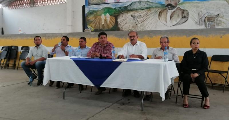 Trabaja Sedagro de la mano con consejos municipales de desarrollo rural