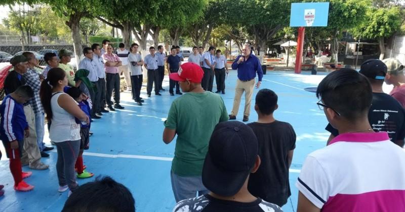 Mejoran espacios deportivos en Morelos