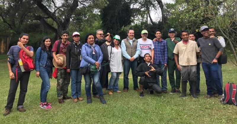 Recorren naturalistas Río Cuautla