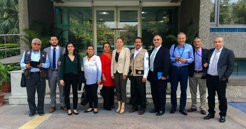 Participa Morelos en capacitación sobre desastres en la India