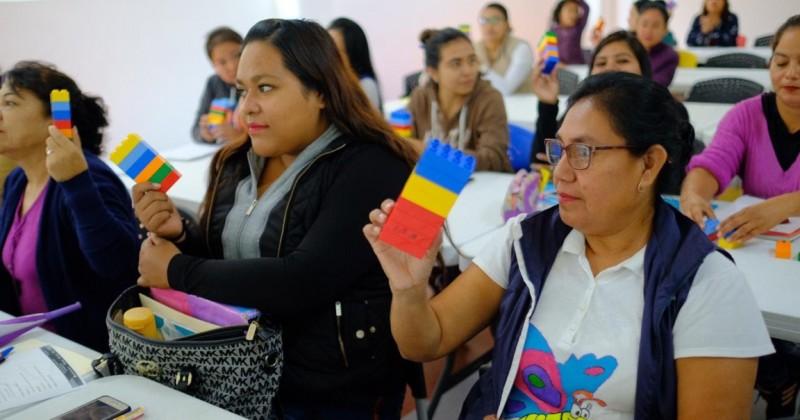 Fundación dona material didáctico al sistema DIF Morelos