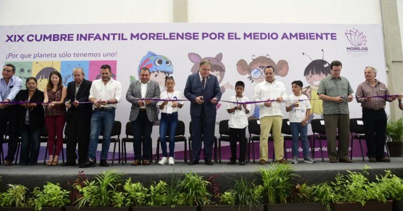 Inicia Cumbre Infantil Morelense por el Medio Ambiente 2018