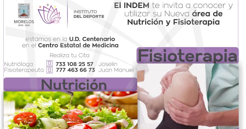 Contará el Centenario con área de Nutrición y Fisioterapia