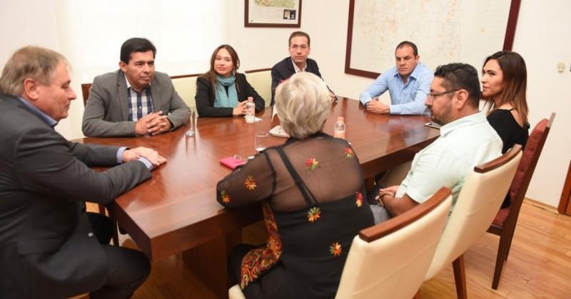 Acuerdan trabajo conjunto Gobierno de Morelos e IMPEPAC
