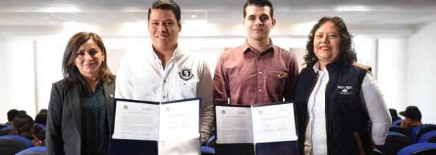 Firma Impajoven acuerdo de colaboración con FEUM