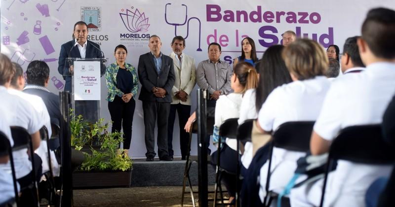 Inicia Cuauhtémoc Blanco abasto de medicamentos en Morelos
