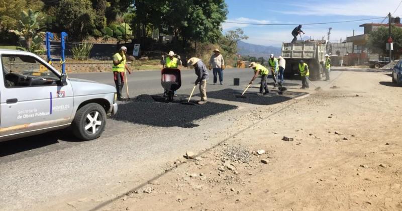 Inicia rehabilitación de carretera Cuernavaca-Tepoztlán