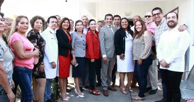 Coordinan esfuerzos Secretaría de Salud y Temixco a favor de la población