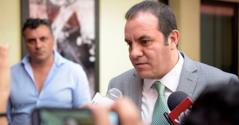 Convoca Cuauhtémoc Blanco a diputados a analizar y aprobar paquete económico 2019