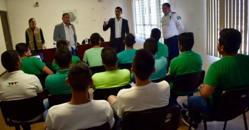 Coordinan esfuerzos CES e INDEM para promover el deporte en jóvenes del CEMPLA