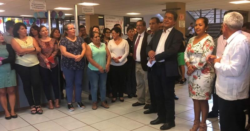 Presentan a nuevos funcionarios en el IEBEM