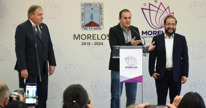 Confirma Morelos estrecha coordinación con Gobierno de México