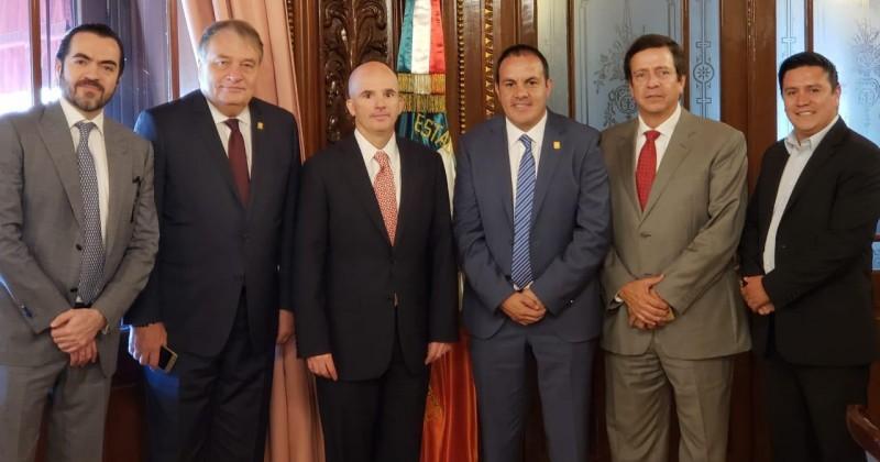 Primer acercamiento de trabajo entre Gobierno de Morelos con la Secretaría de Hacienda y Crédito Público
