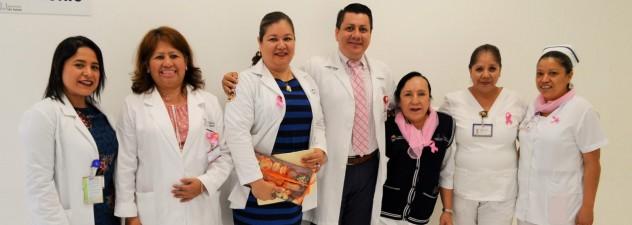 Realiza Hospital General de Cuernavaca acciones a favor de la detección oportuna del cáncer de mama