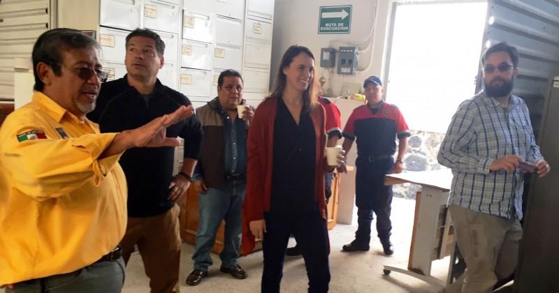 Vistan bomberos de E.U. el CEECA de Morelos