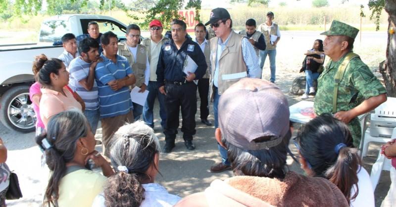 Realiza CEPCM y Sedena visitas de inspección en puestos legalmente establecidos en Xoxocotla para venta de artificios pirotécnicos