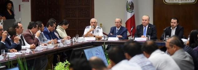 Mantienen coordinación para garantizar gobernabilidad en Morelos