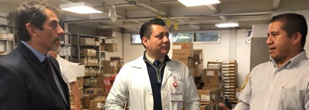 Fomenta Cantú Cuevas diálogo para mejorar el servicio en unidades de salud