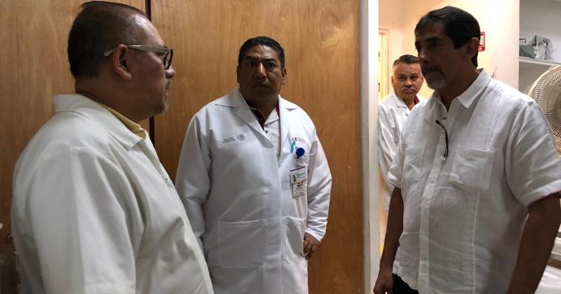 Escucha secretario de Salud peticiones en Cuautla