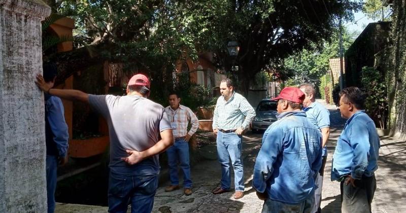 Investiga Propaem descarga de aguas negras en Chapultepec