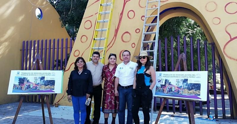 Inician trabajos para mejorar imagen del Parque Barranca Chapultepec de Cuernavaca