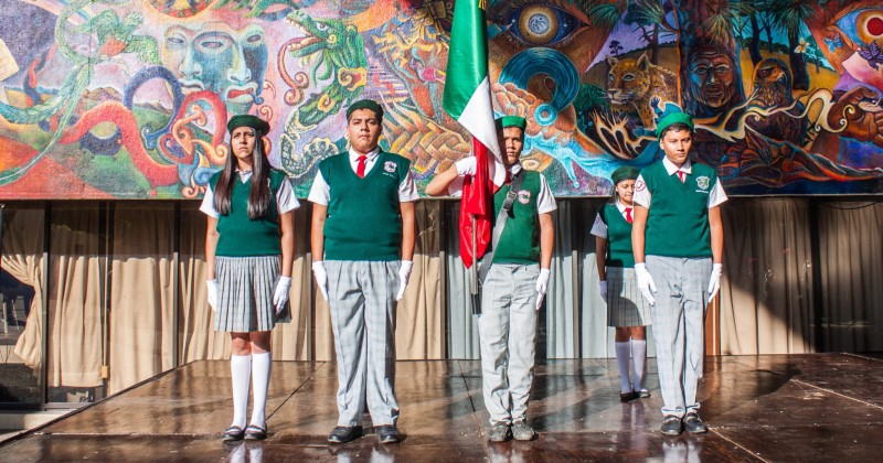 Conmemora IEBEM la Revolución Mexicana
