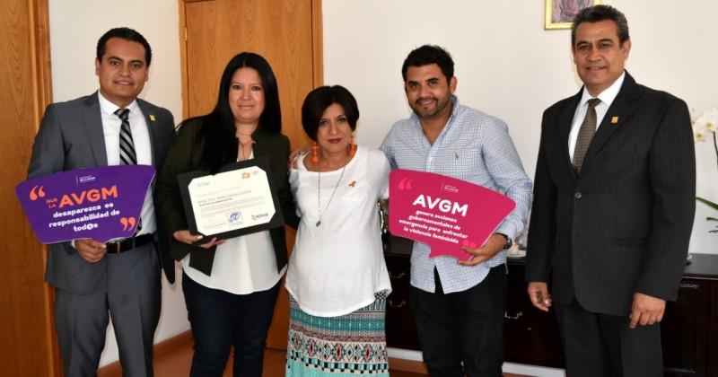Matiene Morelos postura de prevenir, atender y erradicar violencia contra la mujer