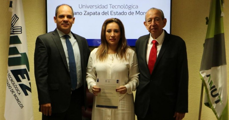 Designan a Sandra Robles como nueva rectora de la UTEZ
