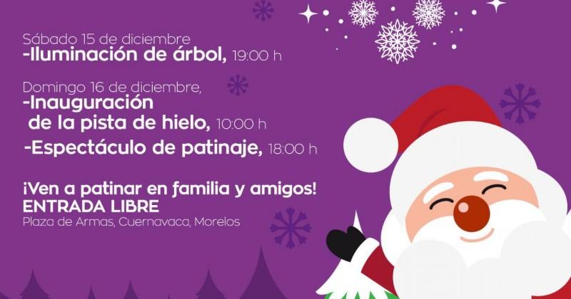 Encenderá Cuauhtémoc Blanco monumental árbol de navidad en Plaza de Armas