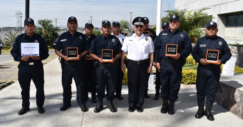 Celebran el Día del Policía Morelos