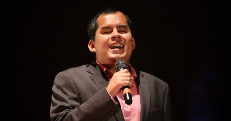 Apoya DIF Morelos a joven que participó en Concurso Nacional de Canto para Personas con Discapacidad