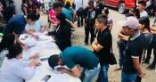 Parten jornaleros agrícolas a Sinaloa al cultivo de jitomate