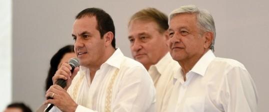 En gira de agradecimiento López Obrador anuncia apoyos para Morelos